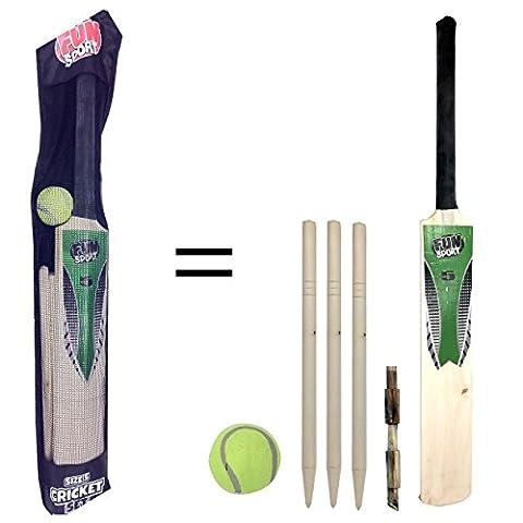 Jeu de cricket taille 5Junior pour enfants par Laeto Toys