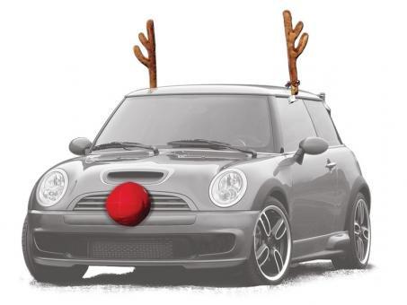 Reindeer Car Kit Turn Your Car Into A Reindeer!