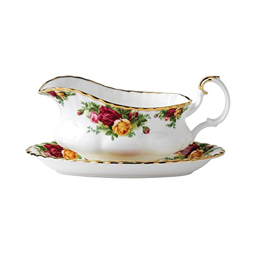 Old Country Roses by Royal Albert 0.50ltr Sauciere Albert Von Apple