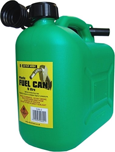 Price comparison product image S Style Unleaded Petrol Can and Spout Green 5 Litre