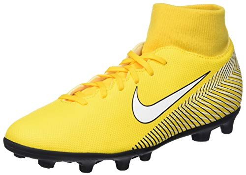 Nike Superfly 6 Club NJR MG, Scarpe da Fitness Unisex-Adulto, Multicolore (Amarillo/White/Black 710), 45 EU