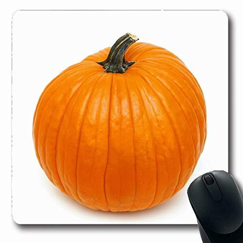 Mousepads Kostüm Mais Big Orange Pumpk White Feiertage Griff Kürbis Spooky Autumn Crows Design rutschfeste Gaming Mouse Pad - Einfach Crow Kostüm