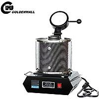 CGOLDENWALL - Horno eléctrico para derretir objetos de oro, plata, cobre y joyería (