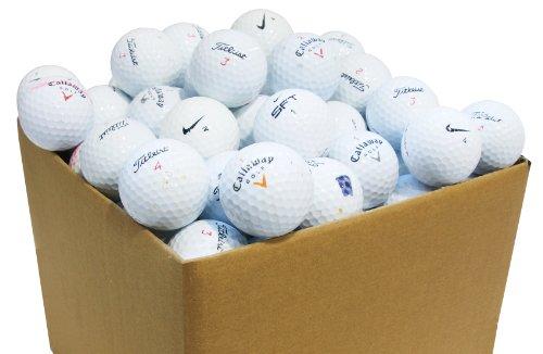 Second Chance 100 Balles de golf de lac de calibre B
