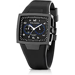 Cronografo Piquadro Wwwatch nero uomo in titanio satinatocon quadrante impermeabile fino a 5 ATM OR1009WW/N
