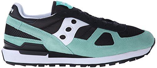 ZAPATILLA SAUCONY S2108-609 BLACK SHADOW Black/Aqua