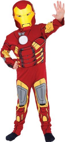 Geniales Iron Man-Kostüm für Kinder 98/104 (3-4 Jahre) (Kind Iron Man Kostüm)