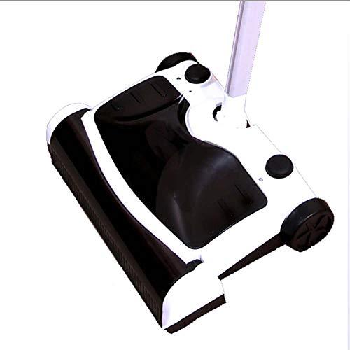 MOP Elektronischer Kabelloser Wischmop Akku-Bodenkehrmaschine und wiederaufladbare Mopp-Bodenkehrmaschine Besengrifflänge 360 Grad einstellbar für Teppich- und Holzböden