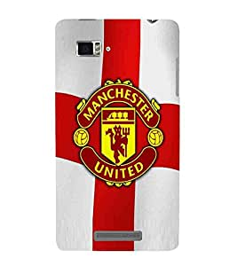 For Lenovo Vibe Z K910 Football, Red, Game Pattern, Printed Designer Back Case Cover By CHAPLOOS
