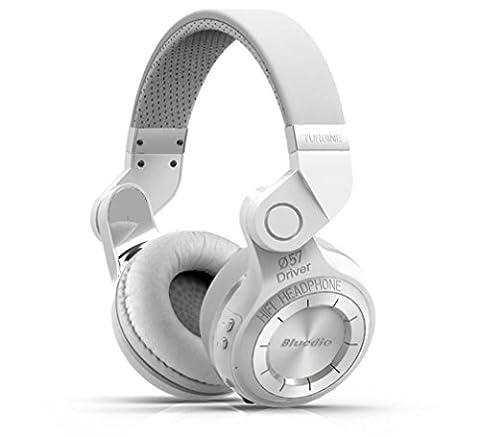 Amh-bluetooth Headset 4.1Bluedio T2casque rotatif plié Réduction de bruit casque stéréo sans fil Musique casque