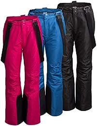 4d9777a7d572b8 Unbekannt Outhorn SPDN600 - Pantaloni da Sci da Donna, Impermeabili, con  Protezioni Laterali e