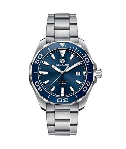 TAG Heuer Aquaracer Herren-Armbanduhr 43mm Quarz Analog WAY101C.BA0746