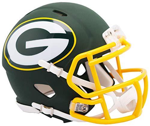 Green Bay Packers Riddell NFL AMP Mini Helm Groß