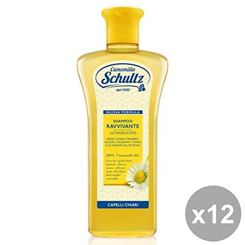 Set 12 SCHULTZ Shampoo Ravvivante Camomilla 250 Ml. Prodotti per capelli