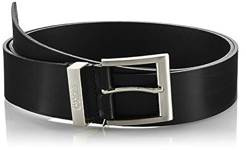 HUGO Men Men's C-Bud 10112630 01 Belt, Schwarz (Black 1), 100 cm