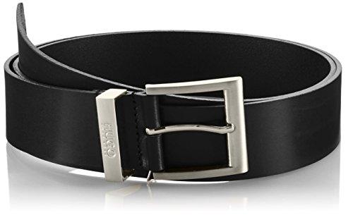 HUGO C-Bud 10112630 01, Cintura Uomo, Nero (Black 1), 90 cm