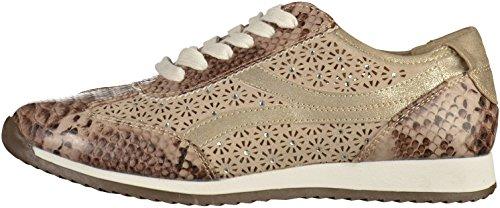 Marco Tozzi Premio Damen 2-2-23702-37 096 Sneakers Dune