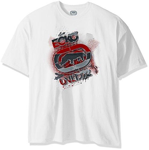 Ecko UNLTD Herren T-Shirt Quiet Killin It Tee - Weiß - Groß