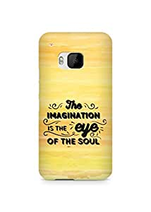 Amez The Imagination is the Eye of the Soul Back Cover For HTC One M9