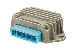 Lichtmaschinen Regler RMS 020 (5 polig Gleichrichter/Regler) für Vespa