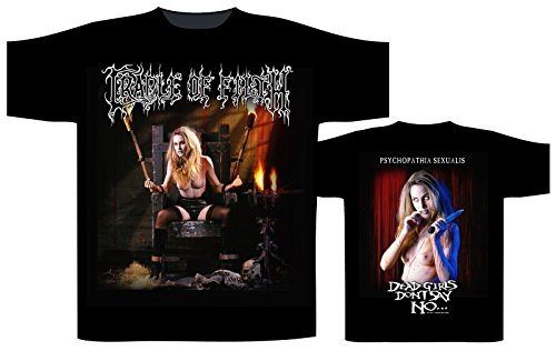CRADLE OF FILTH DEAD GIRLS DON'T SAY NO Shirt Schwarz