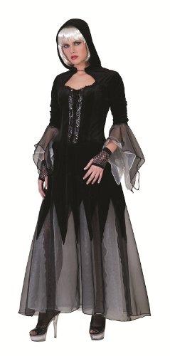 Queen Of Kostüm Darkness - Queen of Darkness Kostüm Damen Gr. 44 46