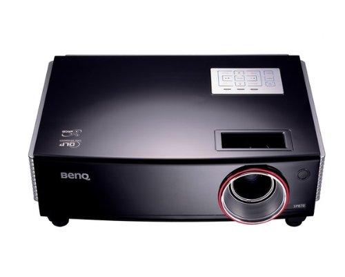 BenQ SP870 DLP Projektor WXGA (Kontrast 2000:1, 5000 ANSI Lumen) DVI, schwarz