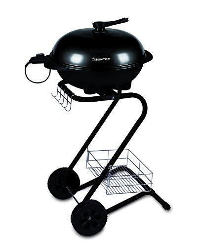 Suntec BBQ-9486 Barbecue con Stand 1850 W