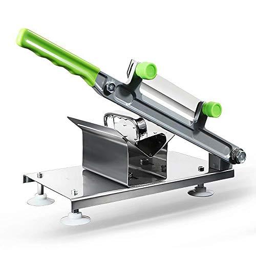 WY-Slicer Fleischschneider-Handsteuerungs-Edelstahl-automatisches Rindfleisch-Hammelfleisch-Schneidemaschine-Rollenfleisch-Gemüse-Blatt für Hauptküche oder Geschäftsgebrauch -