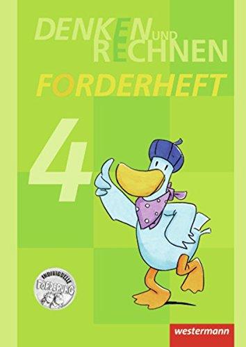 Denken und Rechnen Zusatzmaterialien - Ausgabe 2011: Forderheft 4