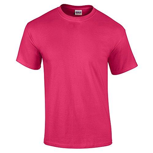 Gildan, Ultra Cotton, maglietta da adulto, unisex Heliconia