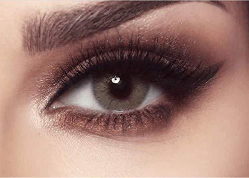 natürliche stark deckende farbige Kontaktlinsen braune Farblinsen