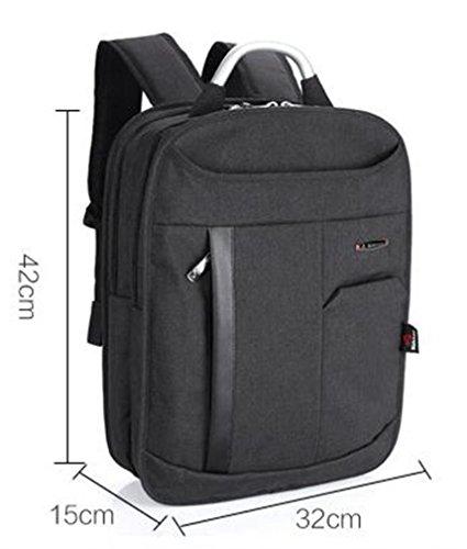 YANFEI Tragbare leichte Laptop Rucksack Mann und Frau Student Taschen Reisen Rucksäcke Mode High Capacity Breathable , black black