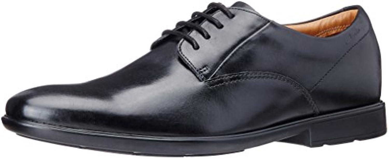 Clarks Gosworth Walk - Zapatos con Cordones de Cuero Hombre -