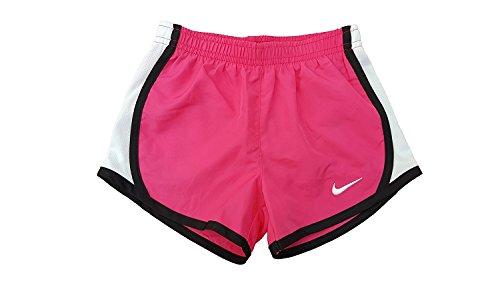 Ausgeführt Kinder Kleidung (Nike Mädchen Tempo Shorts (6 X, kräftigem Pink/Schwarz))
