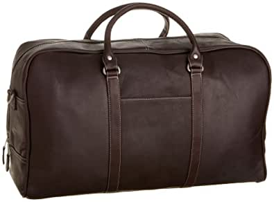 Latico Leathers Heritage Cabin Duffel, 100% Genuine Authentic Luxury Leather, Designer Fashion, Top Quality Leather, Cafe, one size