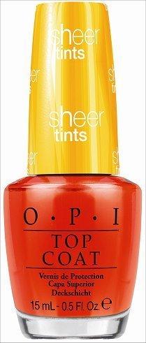 OPI Sheer Tints - I'm Never Amberrassed 15ml