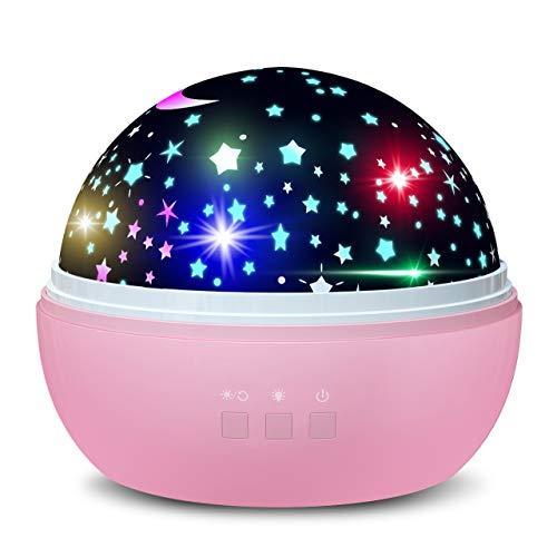 Dreamingbox Cadeaux pour Fille 1-10 Ans, Veilleuses pour Bébé et Enfants Anniversaire 1-10 Ans...