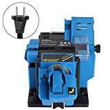 Afilador eléctrico, multifuncional Cortador eléctrico para el hogar Afilador de tijeras Herramienta de afilado(EU Plug 220V)