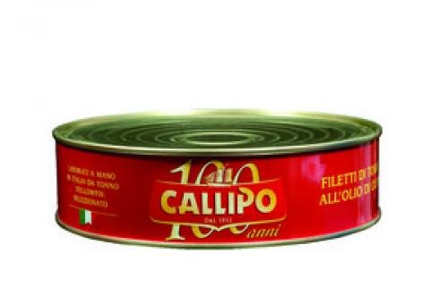 TONNO CALLIPO KG1,70 FILETTI