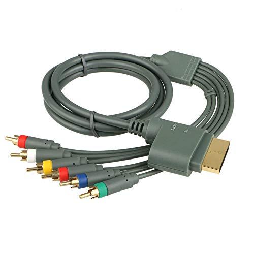 TG888 HD-Kabel für Microsoft Xbox 360, Composite-Audio, Video (Hd Für Xbox 360 Slim)