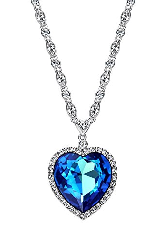 ananth jewels swarovski elements blue crystal pendant  for women Ananth Jewels Swarovski Elements Blue crystal Pendant  For Women 41rBOfw1QoL