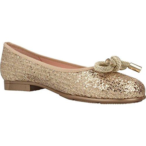 MADE WITH LOVE Ballerina scarpe per le donne, colore Oro, marca, modello Ballerina Scarpe Per Le Donne 2002M Oro Oro
