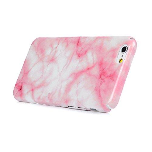 iPhone 6/6S Hardcase iPhone 6/6S Hülle YOKIRIN Premium Handyhülle Hartplastik Painted PC Case Schutzhülle Handytasche Tasche Schale Cover Backcase Scales Marble Grain