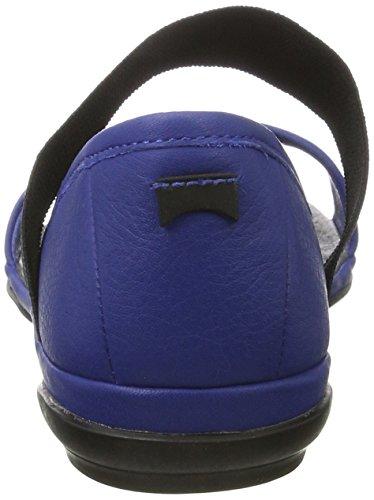 Camper Right Nina, Chaussures Femme Bleu (Medium Blue 046)