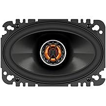 """JBL Club 6420 - Altavoces coaxiales de automóvil (4"""" x 6"""", 2 vías, 105 W, 91 dB, 75 – 20000 Hz), color negro"""