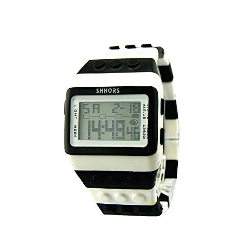 Bestow LED Reloj Electr¨nico Rainbow Unisex Colorido Reloj Digital Reloj Deportivo ewelry Relojes(vistosoA4)
