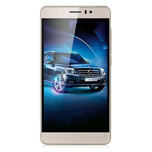 TIMMY M12 5.5 Zoll IPS 3G-Smartphone Android 5.1 Quad Core 1.3GHz Dual SIM 1GB RAM + 8GB ROM Handy Smart Wake Air Gesture Gold