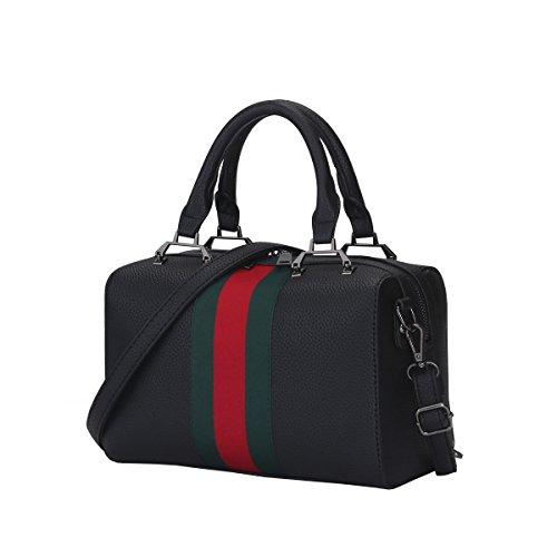 Dissa S853 Nuovo Stile Pu Pelle Deman 2018 Moda Borse A Tracolla Borse Borse, 270 × 140 × 170 (mm) Nero