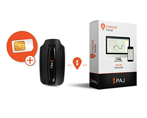 PAJ GPS GPS Tracker Peilsender mit Magnet Power Finder von PAJ Diebstahlschutz Anhängersicherung Auto GPS Sender Ortungsgerät Langzeit 2 Monate – Variante Online-Ortung